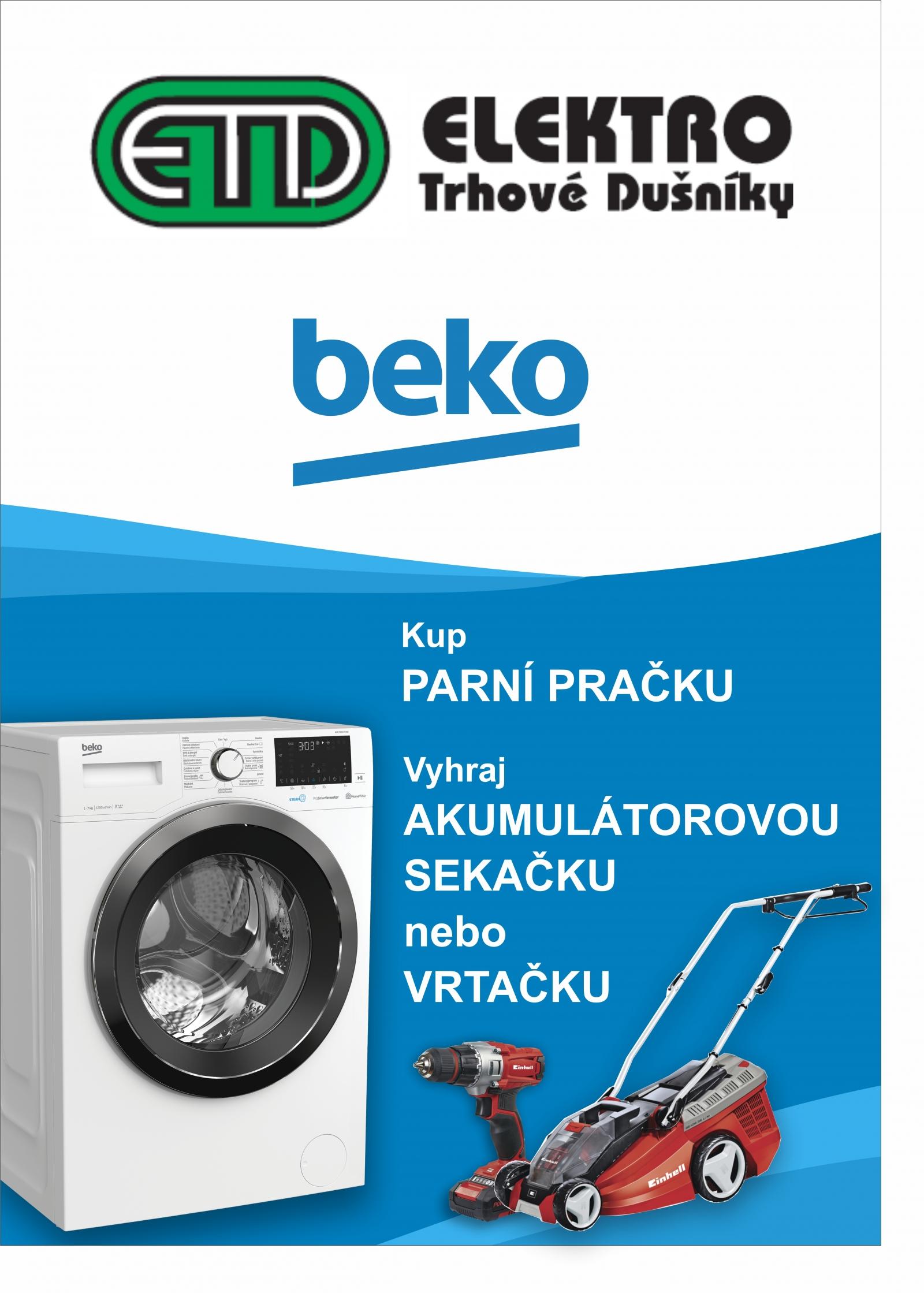 Kup pračku a vyhraj akku sekačku (3 produktů)