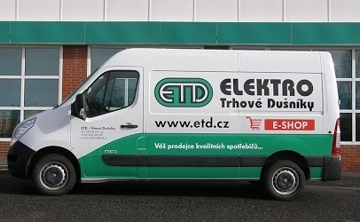 ETD Doprava zdarma
