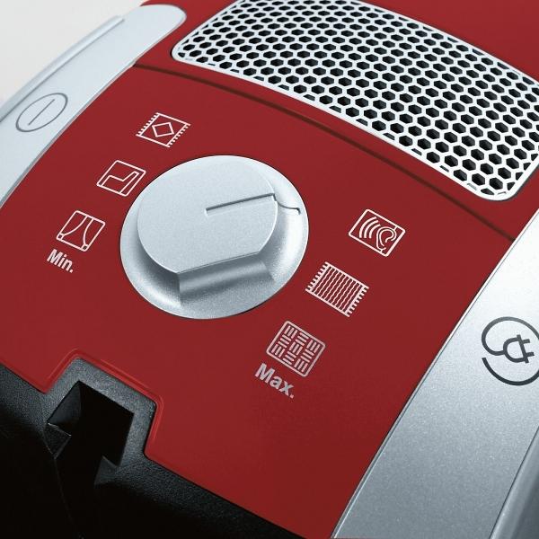 Miele Compact C1 PowerLine - SCAF3  Mangově červená
