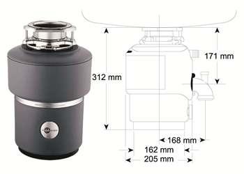 Drtič M 100 evolution - ISE s pneu spínačem/chrom (záruka 5 roků) 513447