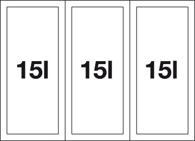 Blanco SELECT 60/3 Orga (Cabrio + Orga) 518726