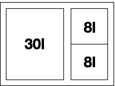 Blanco SELECT 60/3 XL Orga ( Cabrio + Orga ) 520782