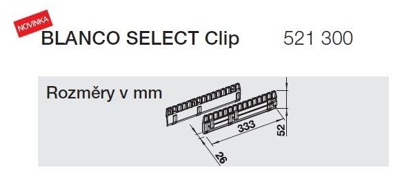 Blanco Select Clip 521300