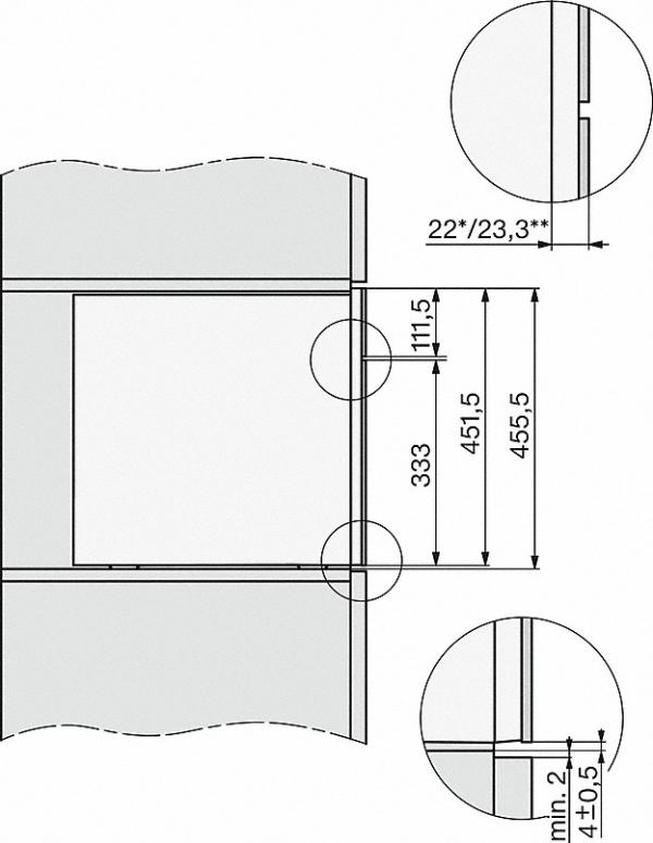 Miele  CVA 7440  Grafitově šedá