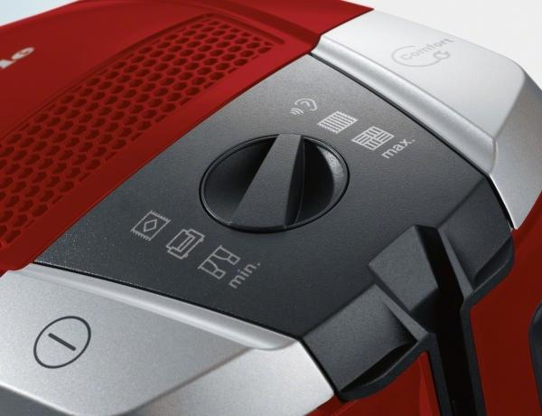 Miele Compact C2 Excellence EcoLine SDRP4  Mangově červená
