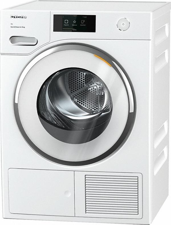Miele TWR860 WP Eco&Steam&9kg  Lotosově bílá