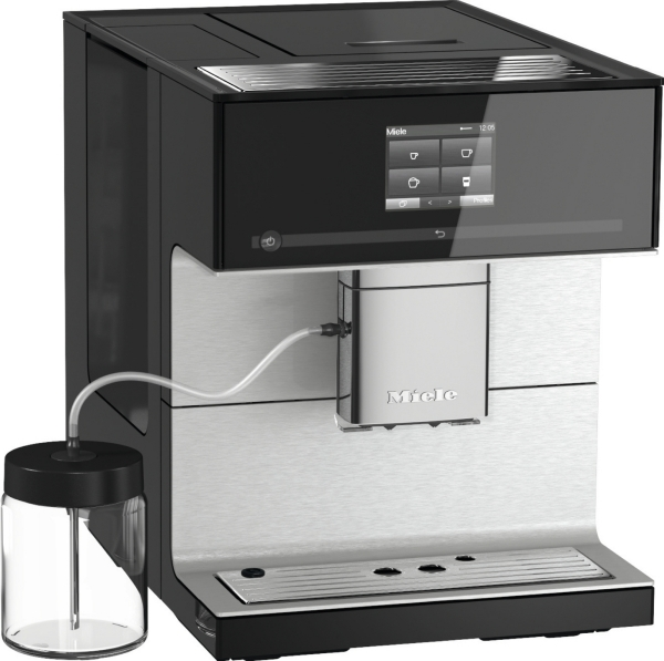 Miele  CM 7350 CoffeePassion  Obsidian černá