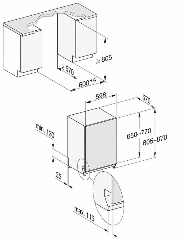 Miele  G 5050 SCVi Active  Nerez