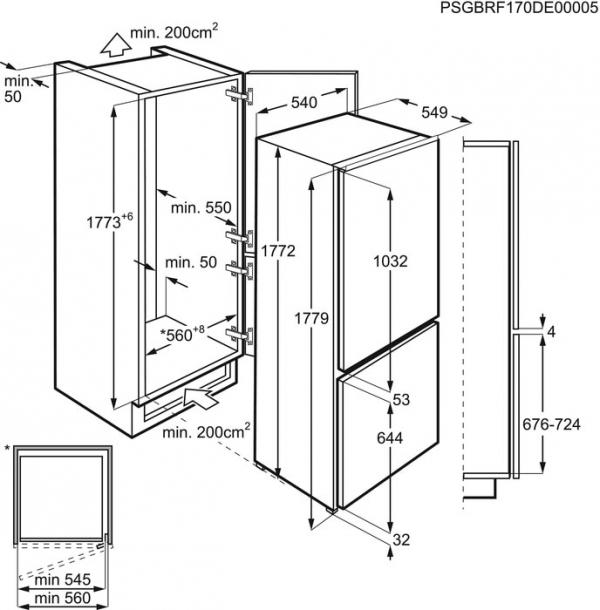 ELECTROLUX KNT2LF18S + SLEVA 1000,- Kč CASHBACK