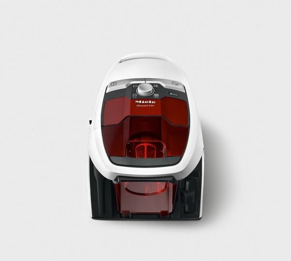 Miele  Blizzard CX1 Red Edition PowerLine SKRF3  Lotosově bílá