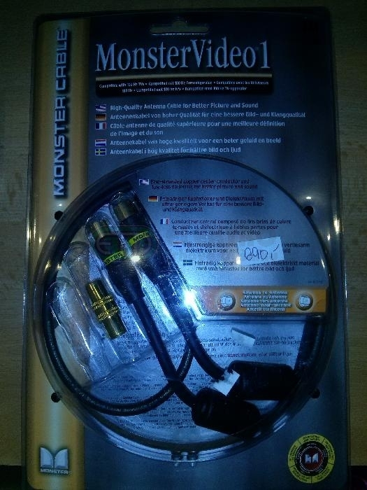 MONSTER CABLE ANTENA 1m