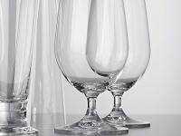 Pivní sklo - teplá