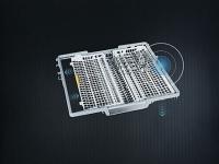 Miele  G 7310 SCi AutoDos  Nerez CleanSteel  - Příborová zásuvka 3D-MultiFlex*