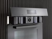 Miele  DGC 7645  Nerez CleanSteel  - Motoricky výsuvný ovládací panel se SoftClose
