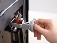 Miele  CM 5510 Silence  Zlatorůžová PearlFinish  - Komora na mletou kávu